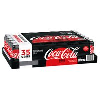 Coke Zero Cans, 35 x 12 fl oz