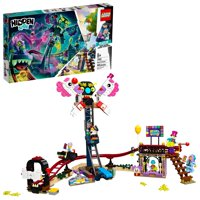 LEGO Hidden Side Haunted Fairground 70432 Ghost-Hunting Toy, Augmented Reality (AR) for Kids (466 Pieces)