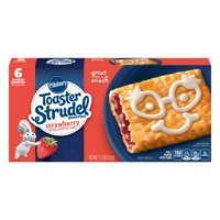 Pillsbury Toaster Strudel Strawberry Toaster Pastries, 6 Ct, 11.7 oz
