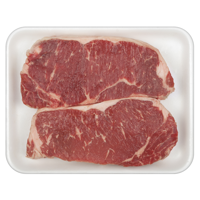 Beef New York Strip Steak, 0.89 - 2.07 lb