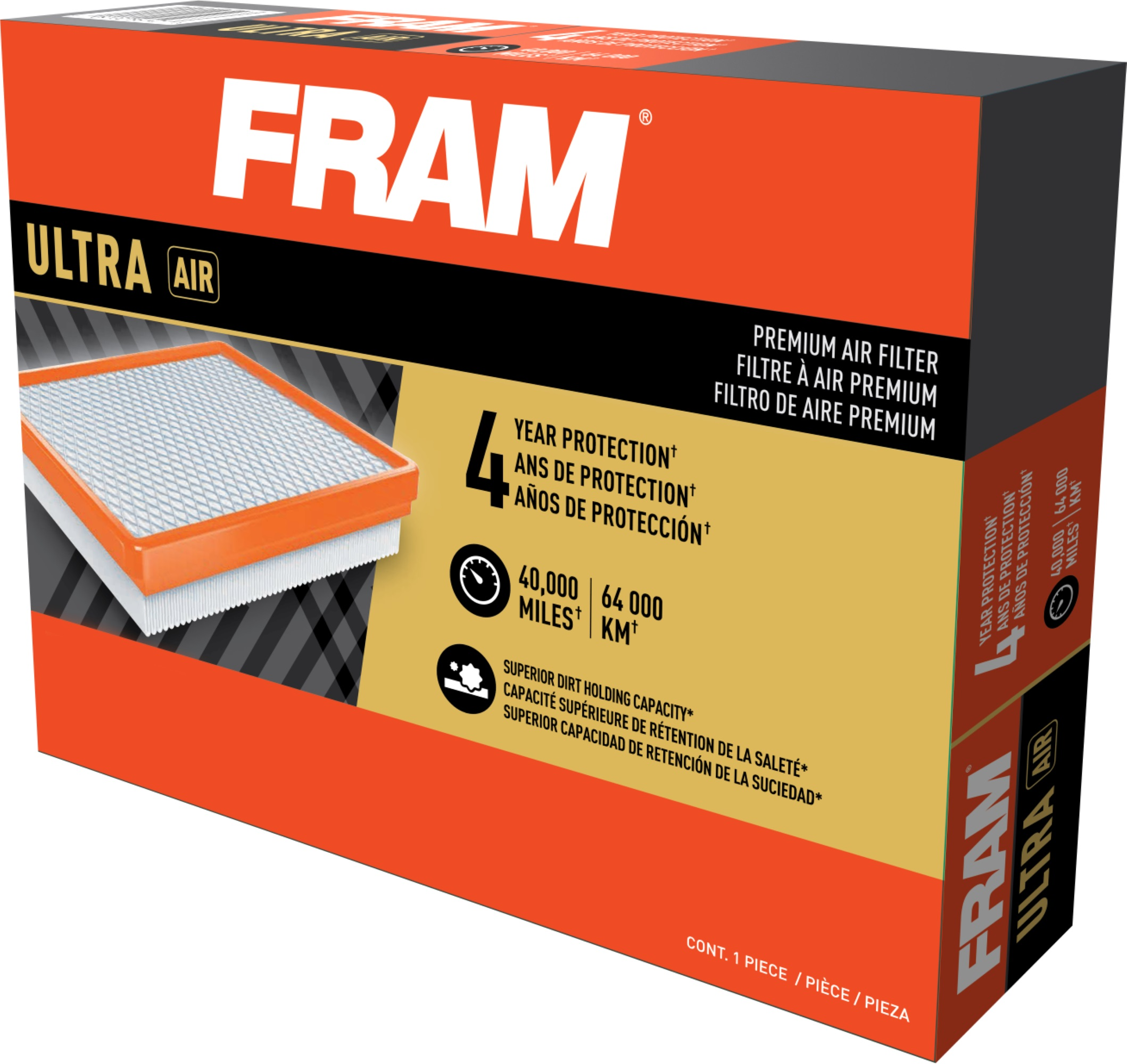 FRAM Ultra Premium Air Filter, 8755A for Select GM Truck Vehicles