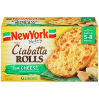 New York Brand Olde World Ciabatta Rolls with Real Cheese