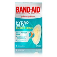 Band-Aid Brand Hydro Seal Adhesive Bandages for Heel Blisters - 6ct