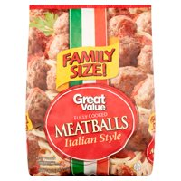 Great Value Italian Style Meat Balls Family Size, 48 oz