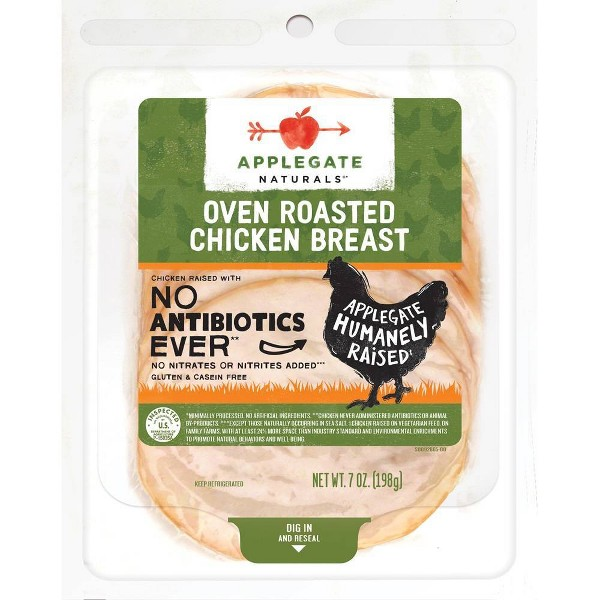 Applegate Natural Oven Roasted Chicken Breast - 7oz