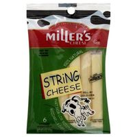 Miller's Cheese Mozzarella String Cheese