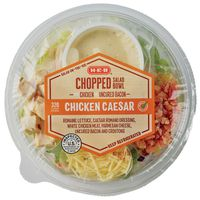 H-E-B Select Ingredients Bacon Caesar Chicken Chopped Salad