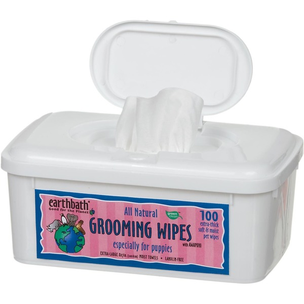 Earthbath All Natural Puppy Grooming Wipes