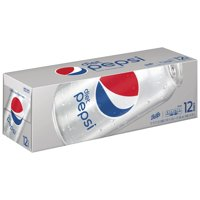 Diet Pepsi Soda, 12 oz Cans, 12 Count