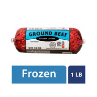 Frozen 85% Lean/15% Fat, Ground Beef Roll, 1 lb
