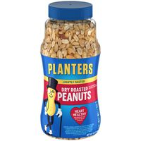 Planters Lightly Salted Dry Roasted Peanuts