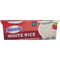 Minute Ready to Serve White Rice - Long Grain, 2-4.4 oz. cups