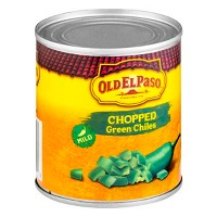 Old El Paso Chopped Green Chiles 7 oz