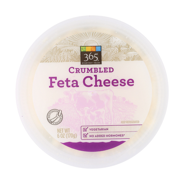 365 Everyday Value® Crumbled Feta Cheese, 6 Oz.