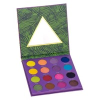 Color Story Tropical Glow Pressed Pigment Eyeshadow Palette - 0.32oz