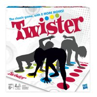 The Classic Twister Game, Ages 6 and up, for 2 or More Players