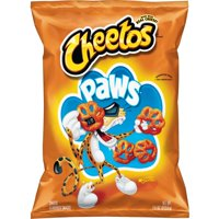 Cheetos Paws Cheese Flavored Snacks, 7.5 oz Bag