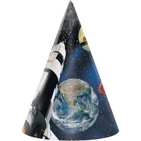 24ct Space Blast Party Hats