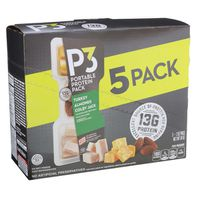 Oscar Mayer P3 Portable Protein Snack Pack with Turkey, Almonds & Colby Jack Cheese