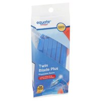 Equate Twin Blade Plus Disposable Razors, 12 count
