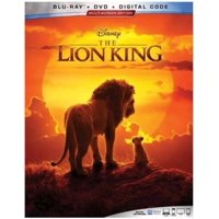The Lion King (2019) (Blu-ray + DVD + Digital Copy)