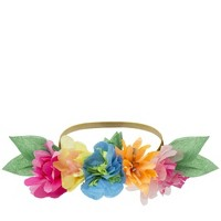 Meri Meri - Bright Floral Blossom Party Crowns - Wearable Party Accessories - 6ct