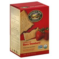 Nature's Path NP Strawberry Unfrosted Pastries