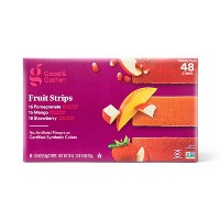 Pomegranate, Mango and Strawberry Fruit Strips Variety Pack - 24oz/48ct - Good & Gather™