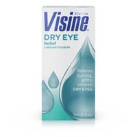Visine Dry Eye Relief Lubricating Eye Drops - 0.5 fl oz