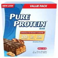 Pure Protein Bar - Chocolate Peanut Caramel - 12ct