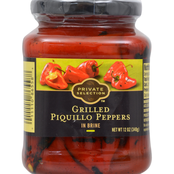 Private Selection Grilled Piquillo Peppers In Brine