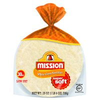 Mission White Corn Tortillas, 30 Count
