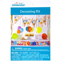 Party Fun Birthday Decorating Kit, 19pc
