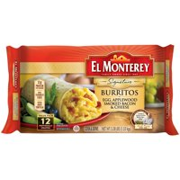El Monterey Signature Egg, Bacon and Cheese Breakfast Burritos 12 ct