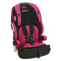 Graco Wayz 3-in-1 Harness Booster Car Seat, Lyla Fuschia