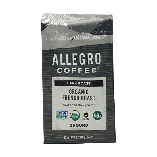 Allegro® Organic French Roast Ground Coffee Beans, 12 oz