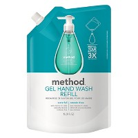 Method Gel Hand Soap Refill Waterfall 34oz