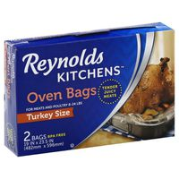 Reynolds Kitchens Oven Bags, Turkey Size