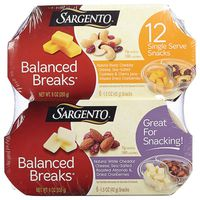 Sargento Balanced Breaks Snack Pack, 12 x 1.5 oz