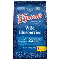 Wyman's Fresh Frozen Wild Blueberries - 3lb