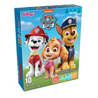 Kellogg's Paw Patrol Assorted Fruit Flavored Snacks Pouches 8 oz 10 ct