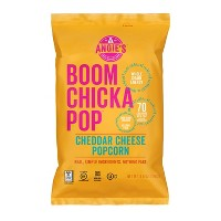 Angie's Boomchickapop Cheddar Cheese Popcorn - 4.5oz