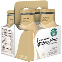 Starbucks Frappuccino Vanilla Coffee Drink - 4pk/9.5 fl oz Glass Bottles