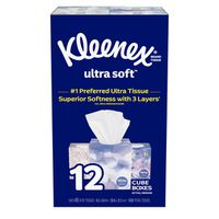 Kleenex Facial Tissue Upright, 12 x 85 Sheets