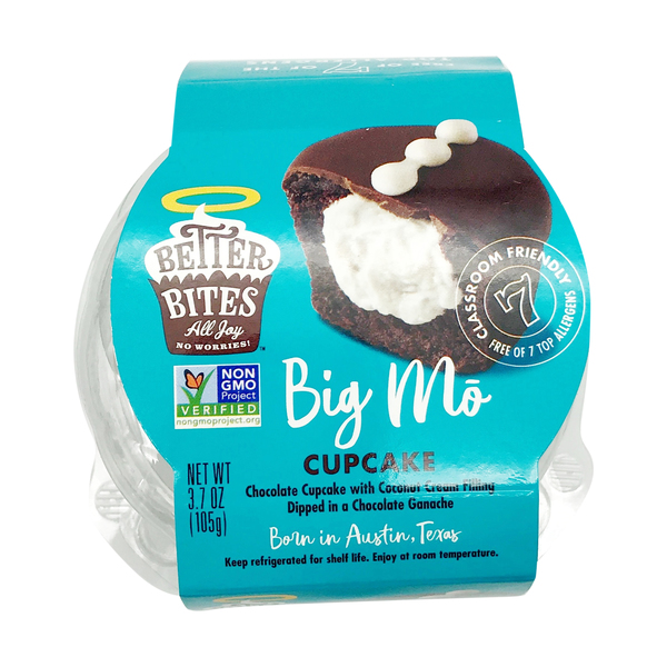 Better bites Mostess Cupcake, 3.7 oz