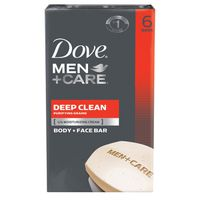 Dove Body Soap And Face Bar Deep Clean