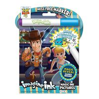 Bendon Toy Story 4 Imagine Ink Magic Ink Pictures Kid's Book