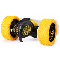 New Bright RC Stunt Radio Controlled TumbleBee with Light Up Eyes 2.4GHz USB