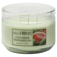 Todays Home Candle, Cucumber Watermelon Scented