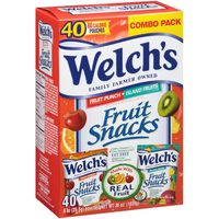 Welch's Fruit Snacks, Fruit Punch/Island Fruits, Variety Pack